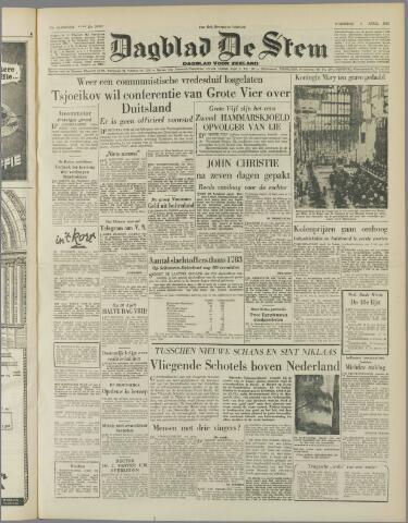 de Stem 1953-04-01