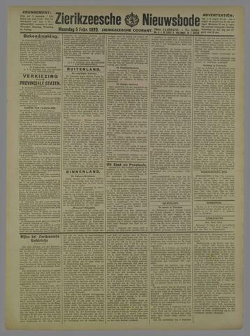 Zierikzeesche Nieuwsbode 1923-02-05