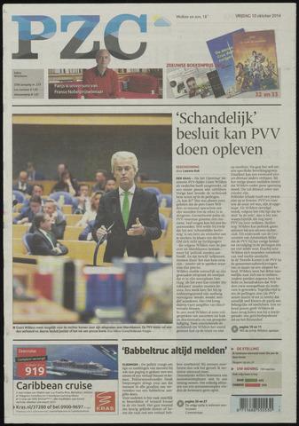 Provinciale Zeeuwse Courant 2014-10-10