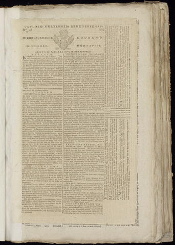Middelburgsche Courant 1799-04-16