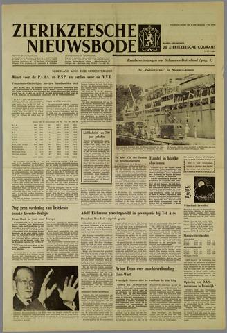 Zierikzeesche Nieuwsbode 1962-06-01