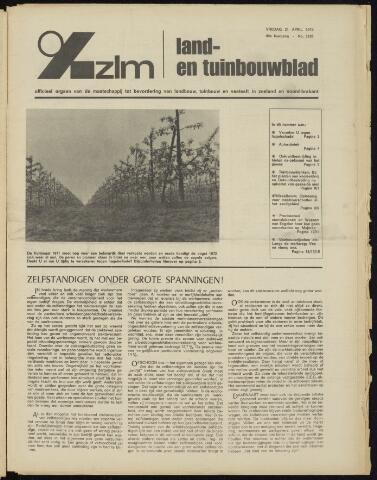 Zeeuwsch landbouwblad ... ZLM land- en tuinbouwblad 1972-04-21