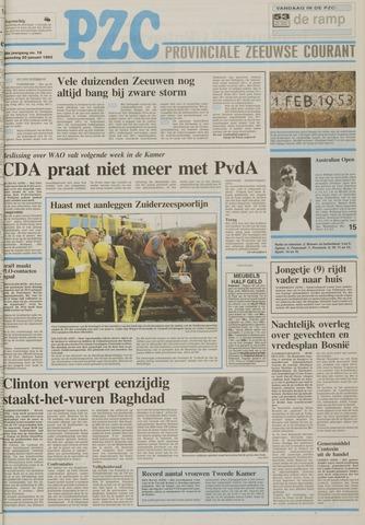 Provinciale Zeeuwse Courant 1993-01-20