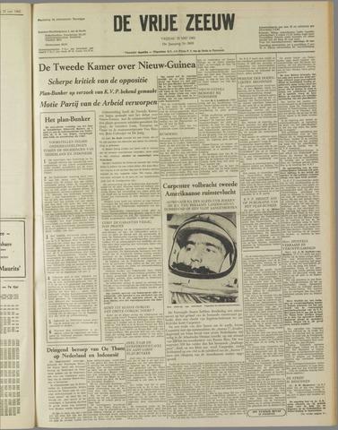 de Vrije Zeeuw 1962-05-25