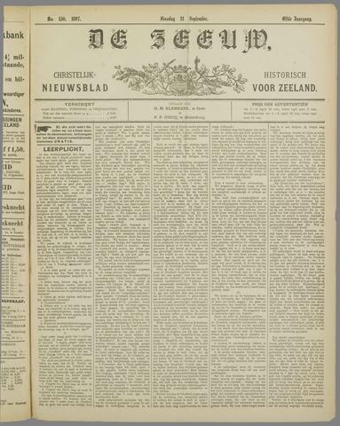 De Zeeuw. Christelijk-historisch nieuwsblad voor Zeeland 1897-09-21