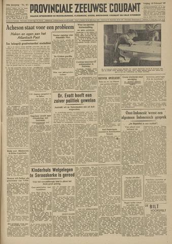 Provinciale Zeeuwse Courant 1949-02-18