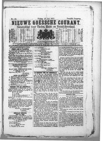 Nieuwe Goessche Courant 1877-07-13