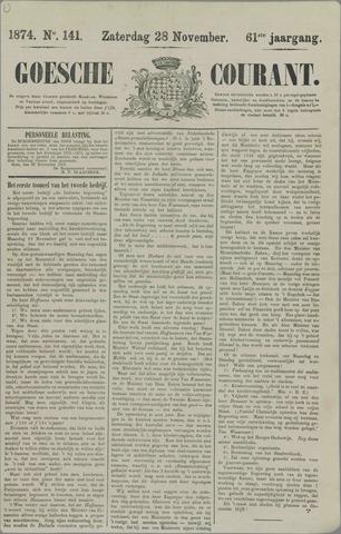 Goessche Courant 1874-11-28