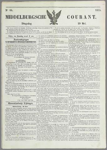 Middelburgsche Courant 1855-05-29