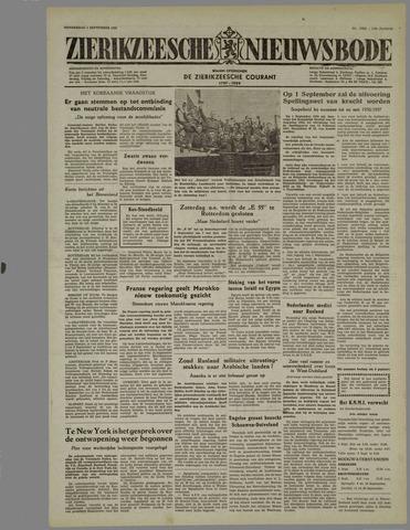 Zierikzeesche Nieuwsbode 1955-09-01