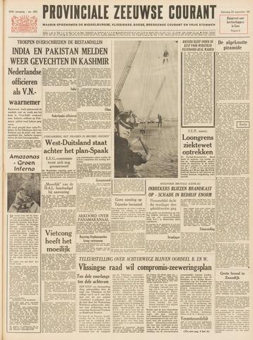 Provinciale Zeeuwse Courant 1965-09-25