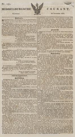 Middelburgsche Courant 1834-11-22