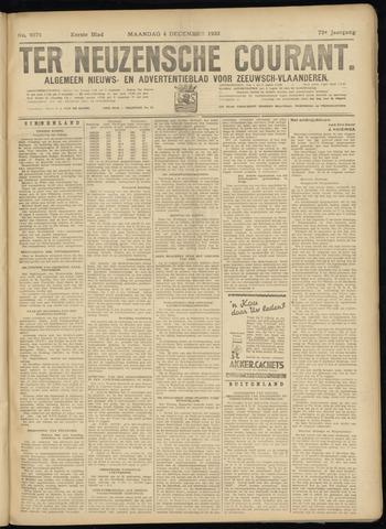 Ter Neuzensche Courant. Algemeen Nieuws- en Advertentieblad voor Zeeuwsch-Vlaanderen / Neuzensche Courant ... (idem) / (Algemeen) nieuws en advertentieblad voor Zeeuwsch-Vlaanderen 1933-12-04