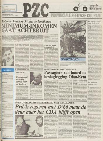 Provinciale Zeeuwse Courant 1980-09-10