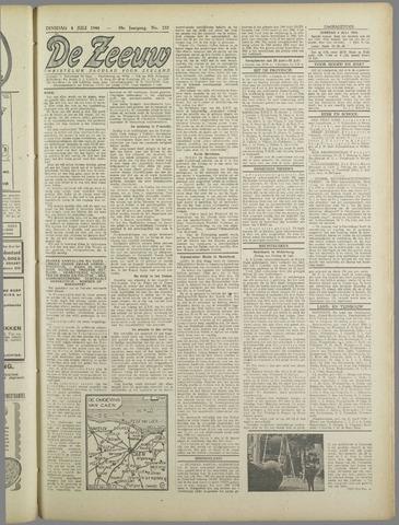 De Zeeuw. Christelijk-historisch nieuwsblad voor Zeeland 1944-07-04