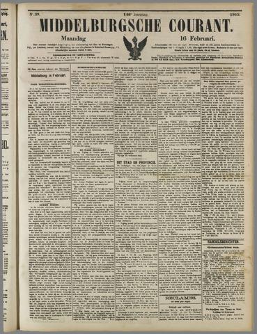 Middelburgsche Courant 1903-02-16