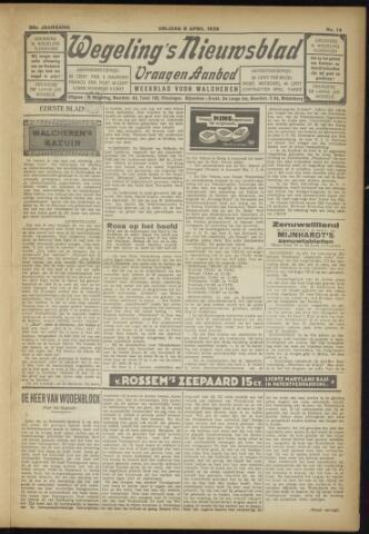 Zeeuwsch Nieuwsblad/Wegeling's Nieuwsblad 1929-04-05