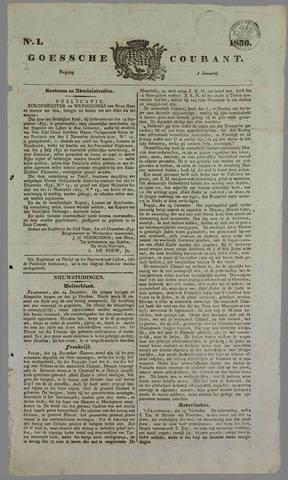 Goessche Courant 1836