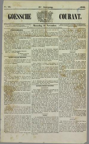 Goessche Courant 1861-11-11
