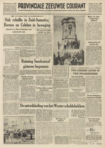 Provinciale Zeeuwse Courant 1956-12-28