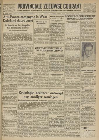 Provinciale Zeeuwse Courant 1950-01-23