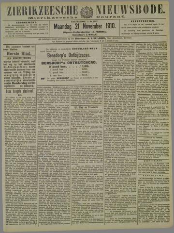 Zierikzeesche Nieuwsbode 1910-11-21