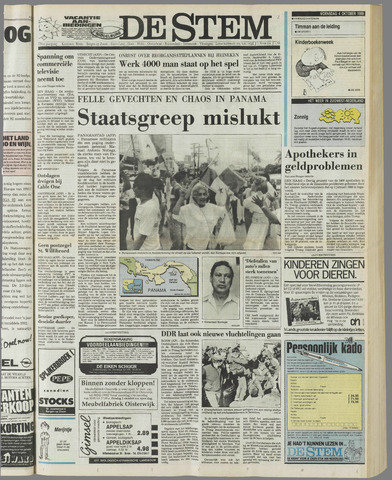 de Stem 1989-10-04