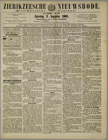 Zierikzeesche Nieuwsbode 1901-08-03