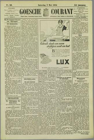 Goessche Courant 1924-05-03