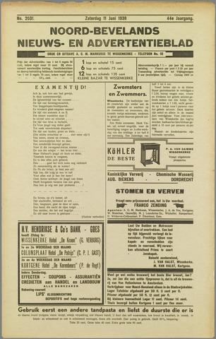 Noord-Bevelands Nieuws- en advertentieblad 1938-06-11