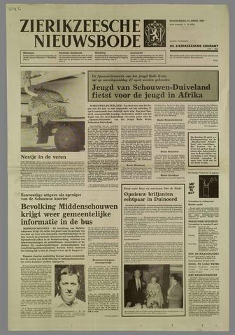 Zierikzeesche Nieuwsbode 1985-04-25