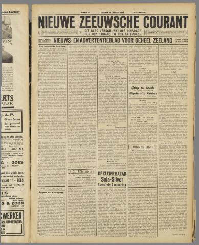 Nieuwe Zeeuwsche Courant 1934-01-23