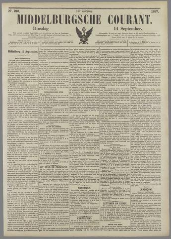 Middelburgsche Courant 1897-09-14