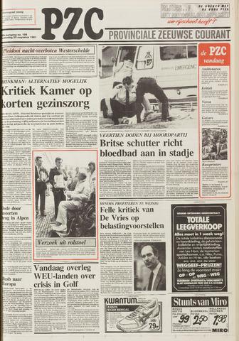 Provinciale Zeeuwse Courant 1987-08-20