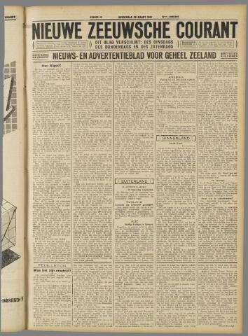 Nieuwe Zeeuwsche Courant 1931-03-26