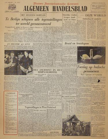 Watersnood documentatie 1953 - kranten 1954-01-23