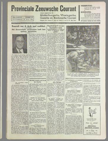 Provinciale Zeeuwse Courant 1940-07-18
