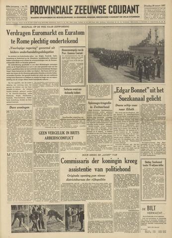 Provinciale Zeeuwse Courant 1957-03-26
