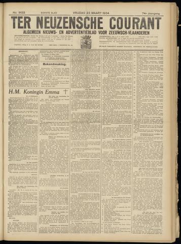 Ter Neuzensche Courant. Algemeen Nieuws- en Advertentieblad voor Zeeuwsch-Vlaanderen / Neuzensche Courant ... (idem) / (Algemeen) nieuws en advertentieblad voor Zeeuwsch-Vlaanderen 1934-03-23