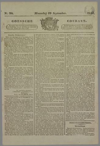 Goessche Courant 1845-09-29