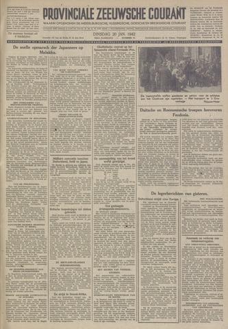 Provinciale Zeeuwse Courant 1942-01-20