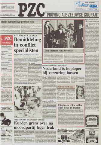 Provinciale Zeeuwse Courant 1988-09-03