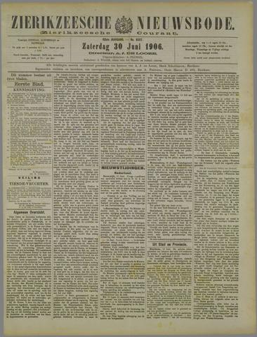 Zierikzeesche Nieuwsbode 1906-06-30