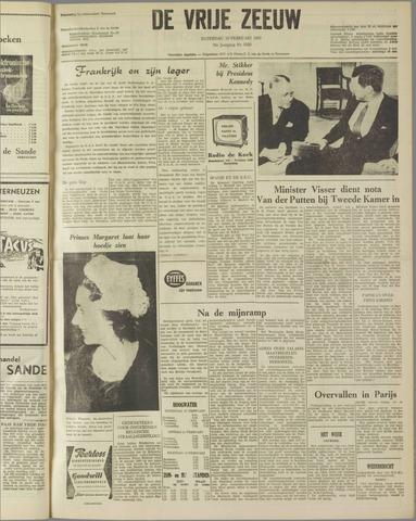 de Vrije Zeeuw 1962-02-10
