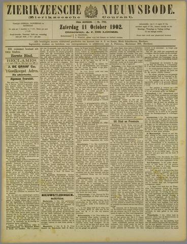 Zierikzeesche Nieuwsbode 1902-10-11