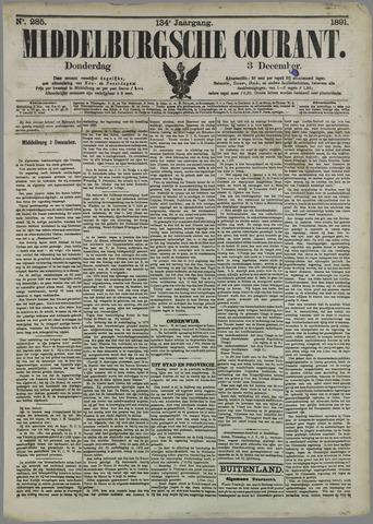 Middelburgsche Courant 1891-12-03