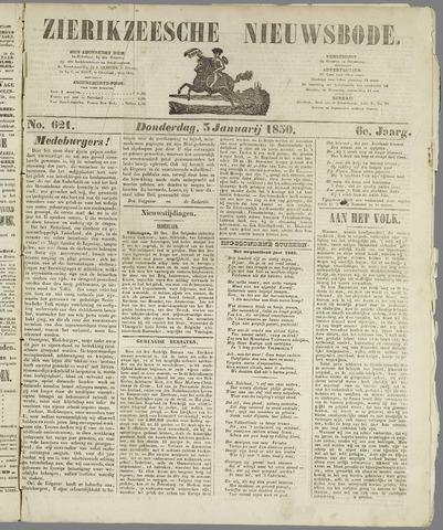 Zierikzeesche Nieuwsbode 1850