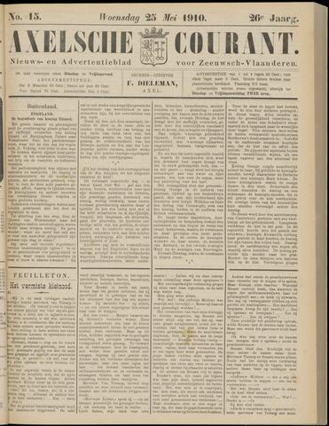 Axelsche Courant 1910-05-25