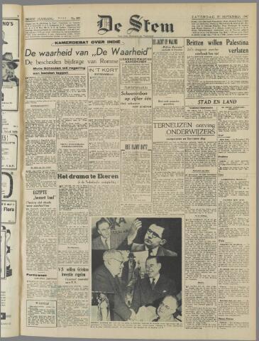 de Stem 1947-09-27