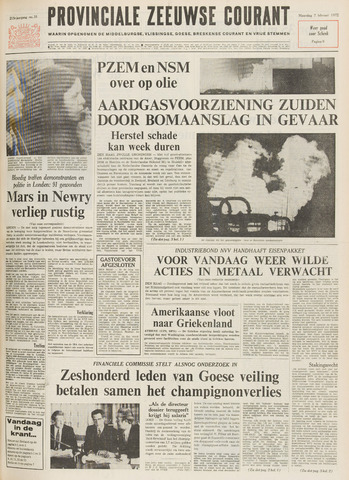 Provinciale Zeeuwse Courant 1972-02-07